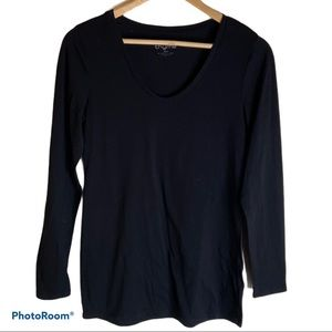 Thyme Maternity long sleeve cotton top